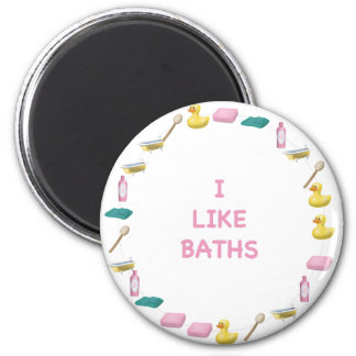 I like baths 2 inch round magnet
