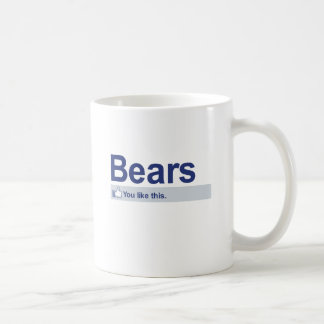 I Like Bears Coffee Mug