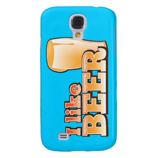 I LIKE BEER alcohol drink design Galaxy S4 Cover