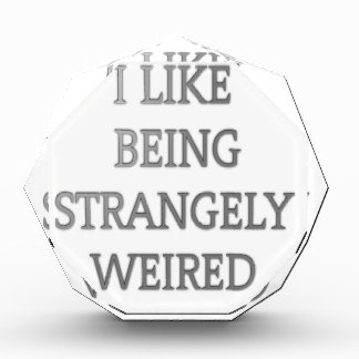 I like being strangely weird .png award