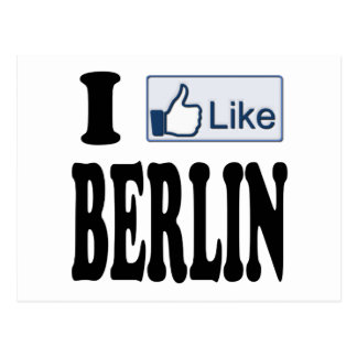I Like Berlin Germany Post Cards