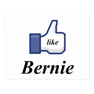 I LIKE BERNIE POSTCARD