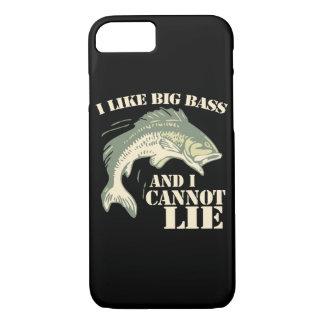 I like big bass and I cannot lie iPhone 8/7 Case