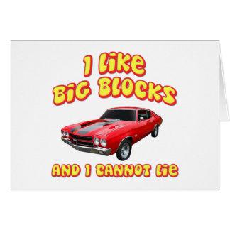 I Like Big Blocks And I Cannot Lie Chevelle Card
