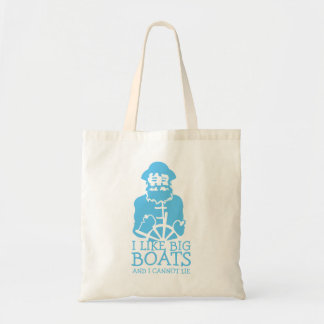 I Like Big Boats Tote Bag