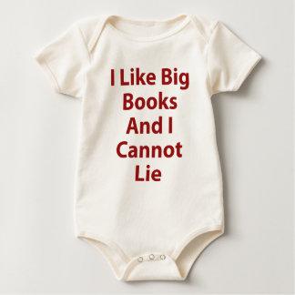 I Like Big Books and I Cannot Lie Baby Bodysuit