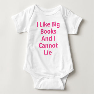 I Like Big Books and I Cannot Lie Baby Bodysuit