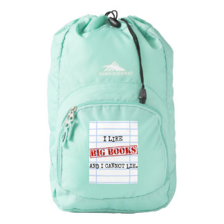 I Like Big Books and I Cannot Lie Funny Library High Sierra Backpack