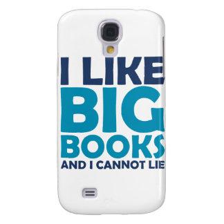 I Like Big Books and I Cannot Lie Samsung Galaxy S4 Case