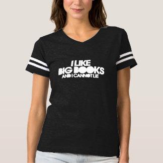I like big books and I cannot lie Tee Shirt