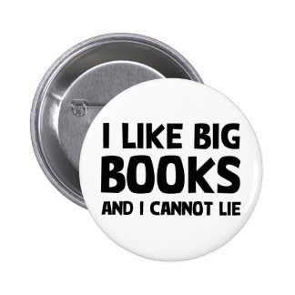 I Like Big Books Button