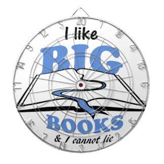 I like Big Books Dartboard With Darts