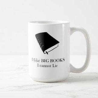 I Like Big Books I Cannot Lie mug