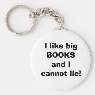 I like big books key chain