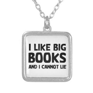 I Like Big Books Pendants