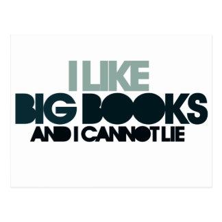 I Like Big Books Post Cards