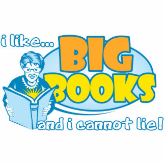I Like Big Books Statuette