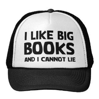 I Like Big Books Trucker Hat