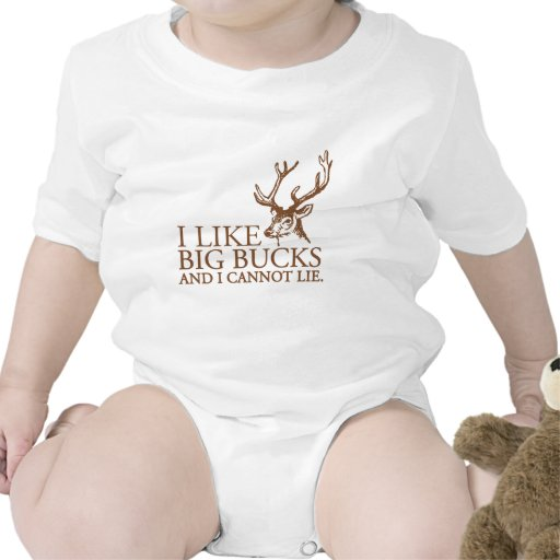 I like big bucks and i cannot lie funny tshirt