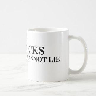 I Like Big Bucks and I Cannot Lie Shirts Classic White Coffee Mug