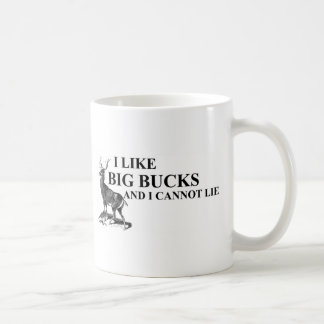 I Like Big Bucks and I Cannot Lie Shirts Coffee Mug