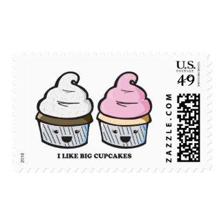 I Like Big Cupcakes Stamps