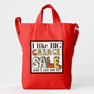 I like Big Garage Sales Duck Tote Duck Bag