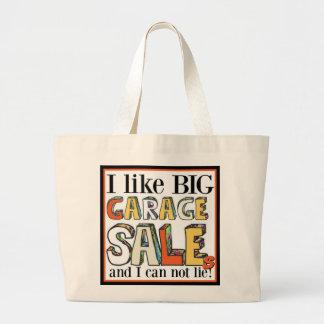 I like Big Garage Sales Jumbo Tote