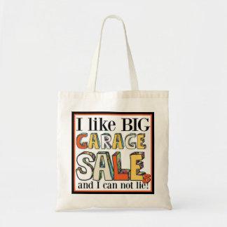 I Like Big Garage Sales Small Tote