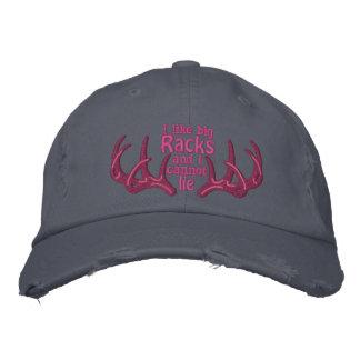 I like big racks and I cannot lie Embroidered Hat