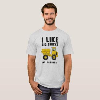 I like big trucks and I cannot lie T-Shirt