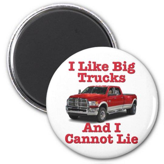 I Like Big Trucks .... Dodge Magnet