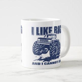 I Like Big Trucks Giant Coffee Mug