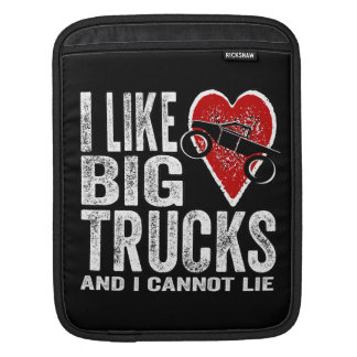 I Like BIG Trucks Sleeve For iPads