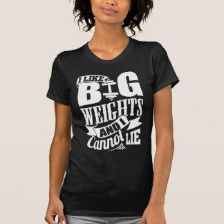 I Like Big Weights And I Cannot Lie T Shirt