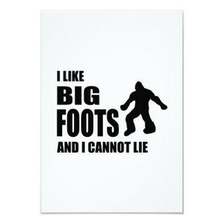 I Like Bigfoots and I Cannot Lie Card