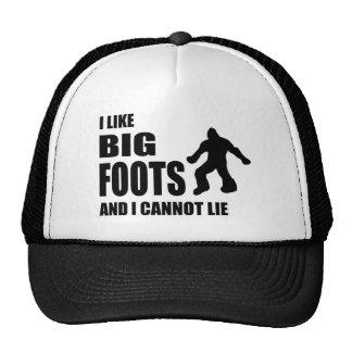 I Like Bigfoots and I Cannot Lie Trucker Hat