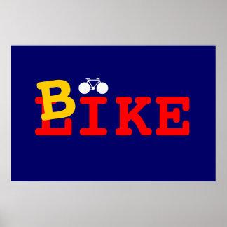 I like bike print