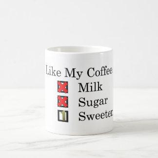 I Like... Black Coffee 1 Sweetener Coffee Mug