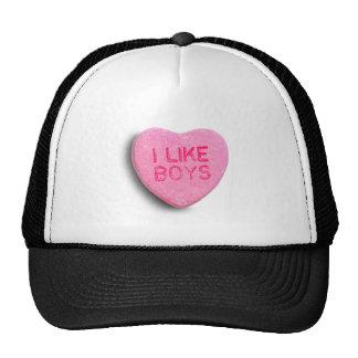 I Like Boys Trucker Hat