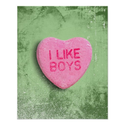 I Like Boys Poster