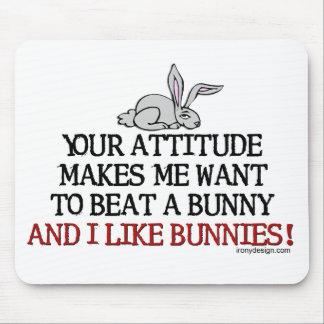 I Like Bunnies Mouse Pad