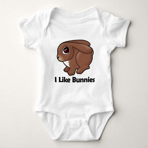 I Like Bunnies Shirts