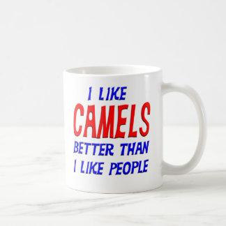 I Like Camels Better Than I Like People Mug