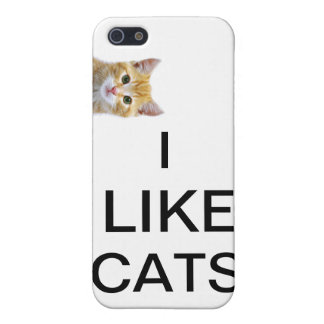 I like cats cover for iPhone SE/5/5s