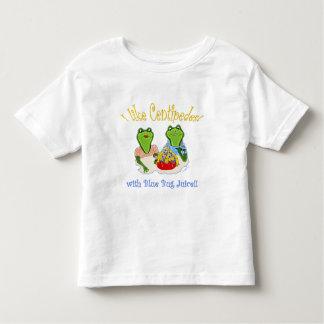 I Like Centipedes with Blue Bug Juice Toddler T-shirt