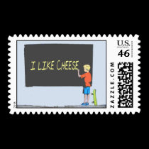 I Like Cheese stamps