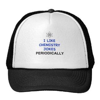 I LIKE CHEMISTRY JOKES PERIODICALLY MESH HATS