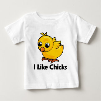 I Like Chicks Baby T-Shirt