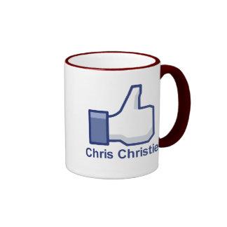 I LIKE CHRIS CHRISTIE MUGS